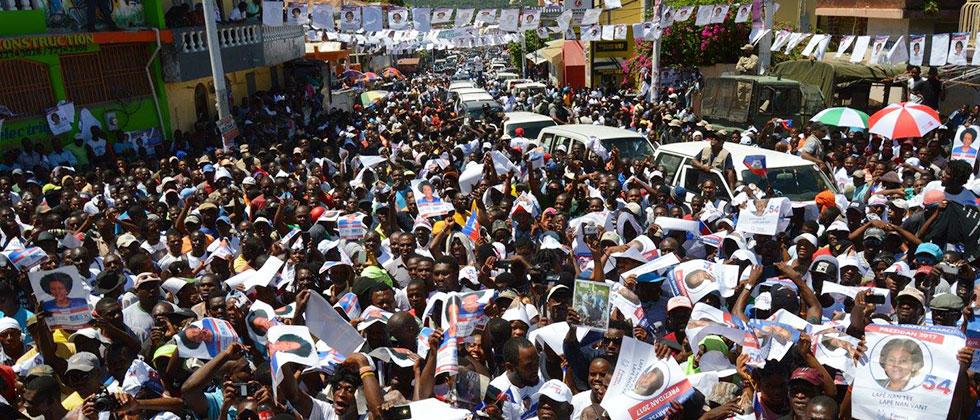 Lavalas rally
