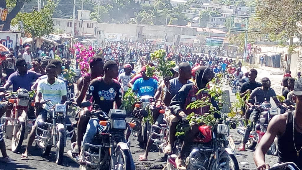 Solidarity With the Popular Uprising In Haiti